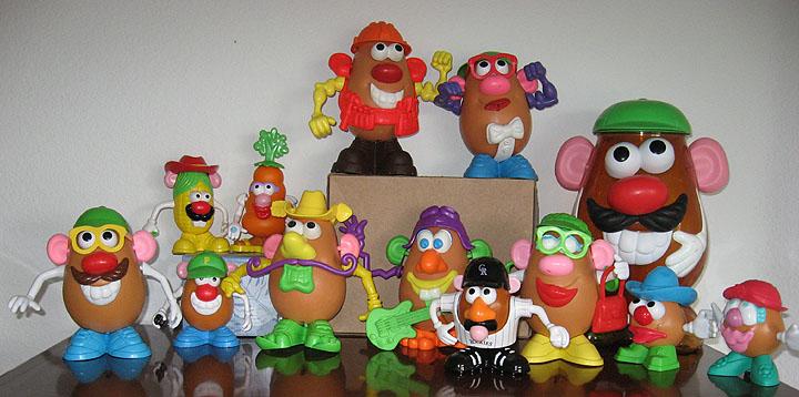 Mr. Potato Head Gone Wild