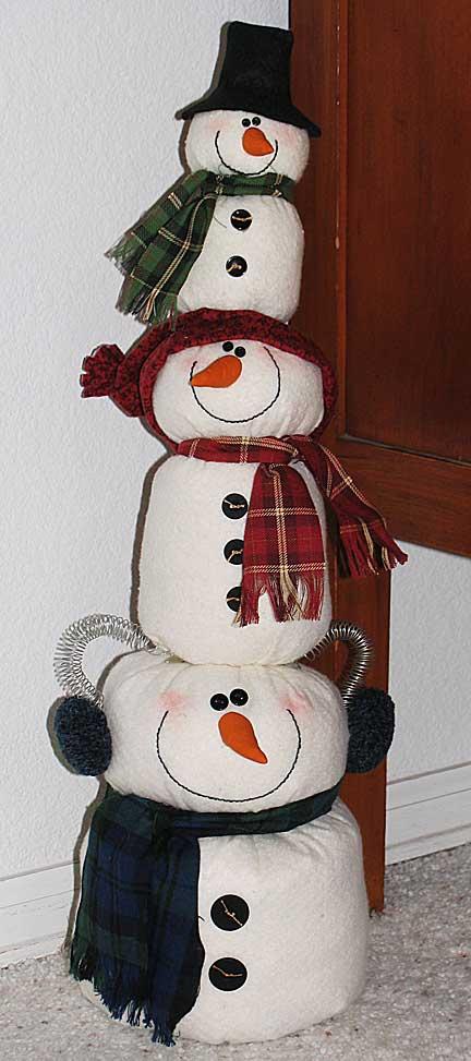stacked-snowmen