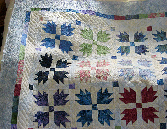 Rhondas Bears Paw Quilt Sonyas Snippets