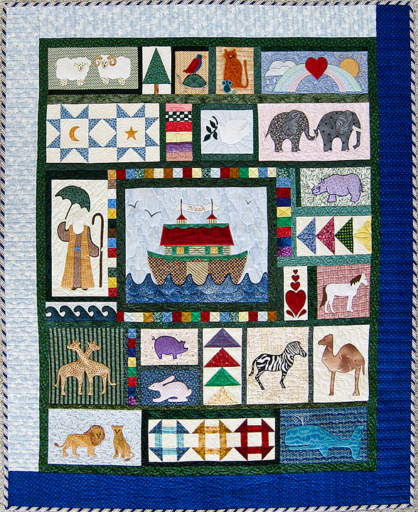 Quilts | Sonya's Snippets | Page 12 : noahs ark quilt - Adamdwight.com