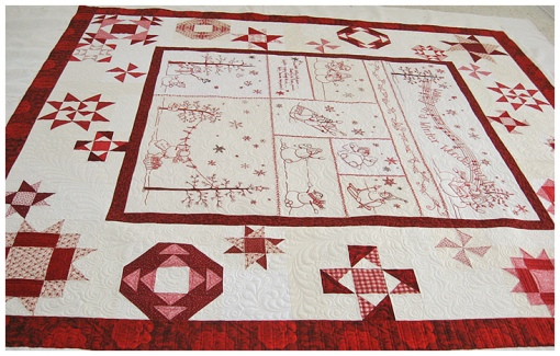 Winter Wonderland Quilting View