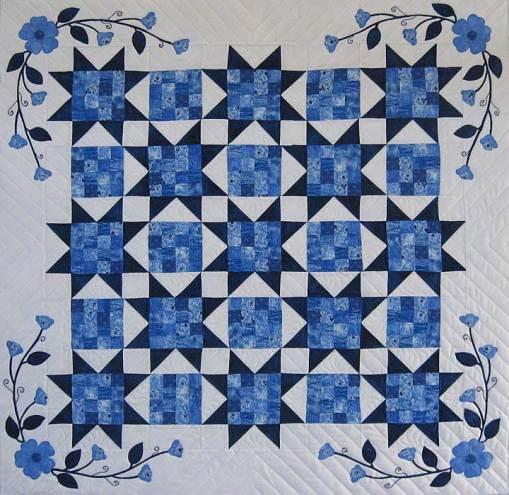 Linda's Blue & White Quilt