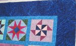 Barb's Sampler Quilt Detail