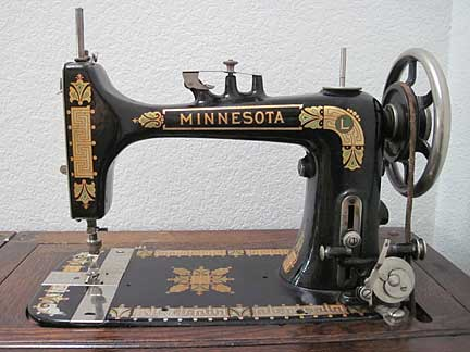 Vintage Friday MinnesotaL Treadle Sewing Machine Sonya's Snippets Best Standard Sewing Machine