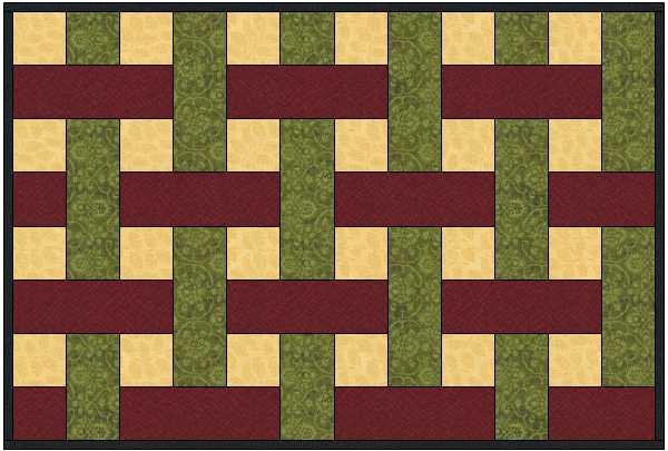 Easy Basket Weave Quilt Pattern : Sewing sonya s snippets