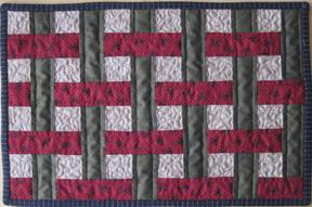 basket weave placemat