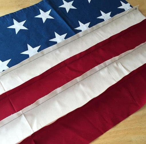 Flag-first-seam